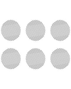 Este Juego de pantallas gruesas pequeñas contiene 6 pantallas que se ajustan al Crafty, al Mighty y a los adaptadores de cápsula dosificadora