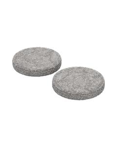 Este Juego de almohadillas para concentrado se usa para vaporizar ceras y aceites con tu vaporizador Plenty o Volcano.